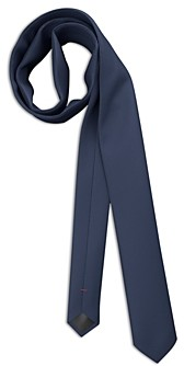 HUGO BOSS Silk Textured Check Skinny Tie