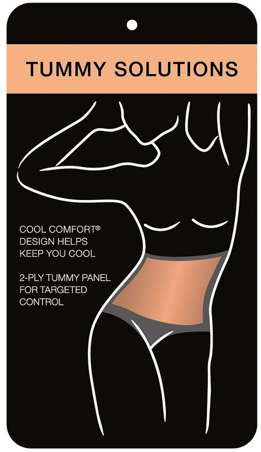 Bali Cool Comfort 2-pack Light Control Cottony Shaping Brief X864