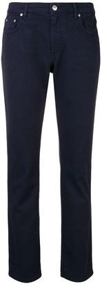 MSGM Slim Fit Denim Trousers