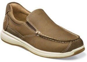 Florsheim Toddler Boy Great Lakes Moc Toe Slip on Jr. Shoes