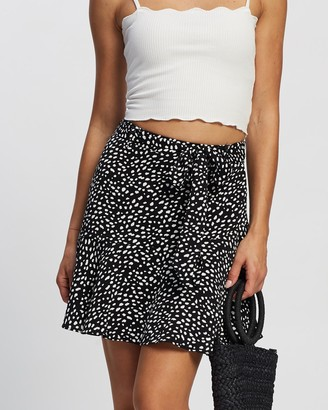 All About Eve Women's Black Mini skirts - Whitney Mini Skirt - Size One Size, 12 at The Iconic