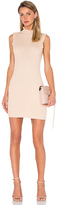 Endless Rose Knit Sleeveless Mock Neck Dress