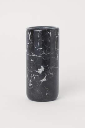 H&M Marble Vase - Black