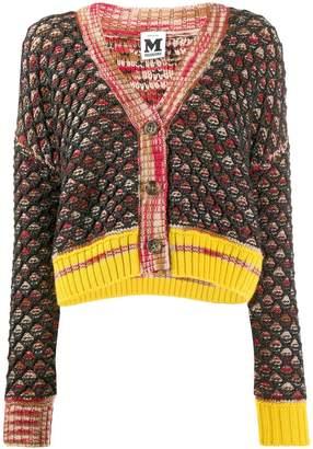 M Missoni chunky knit cardigan