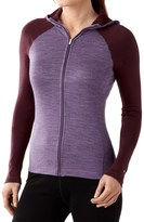 Smartwool NTS 250 Midweight Base Layer Hoodie - Merino Wool, Full Zip (For Women)