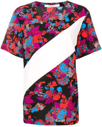 Givenchy floral print silk blouse