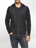 Calvin Klein Premium Quilted Herringbone Hoodie