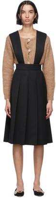 Miu Miu Black Suspender Dress