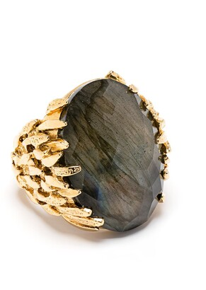 Wouters & Hendrix Labradorite accent ring