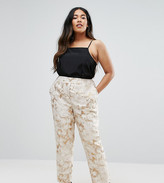 Elvi Plus Jacquard Pants