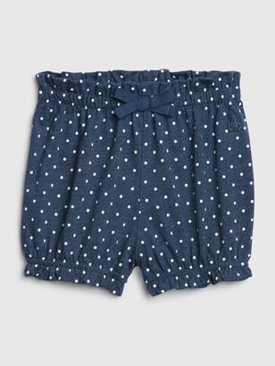 Gap Baby Print Bubble Shorts
