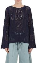 Chloé WOMEN'S DRAWSTRING-WAIST COTTON-BLEND SWEATER
