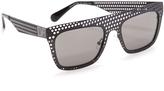 Diane von Furstenberg Grace Flat Top Sunglasses