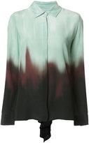 Rosetta Getty ombré print shirt