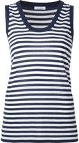 P.A.R.O.S.H. striped top - women - Silk/Cashmere - XS