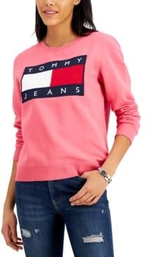 Tommy Jeans Flag Crewneck Sweatshirt