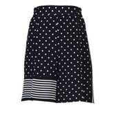 Stella McCartney Zandra Silk Polka Dots Shorts