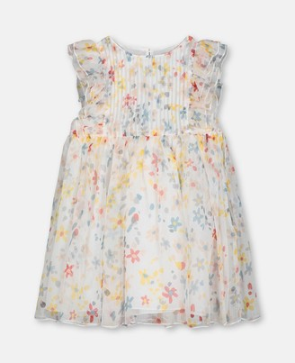 Stella McCartney splash flowers silk dress