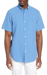 Vineyard Vines Tucker Classic Fit Seersucker Shirt