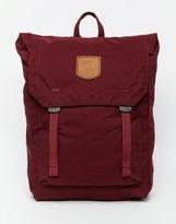 Fjallraven No.1 Foldsack Backpack - Red