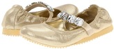 Enzo Drea (Toddler/Little Kid/Big Kid) (Gold) - Footwear