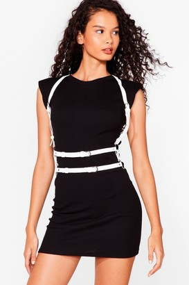 Nasty Gal Womens Shake That Harness Strappy Harness - White - One Size