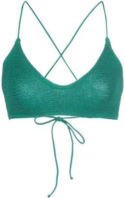 Bond Eye Bound By BOUND by Bond-Eye green selena bikini top
