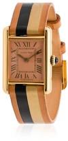 Cartier La Californienne Peach Dial 18K Gold Watch