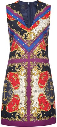 Pinko Mix-Print Sleeveless Dress