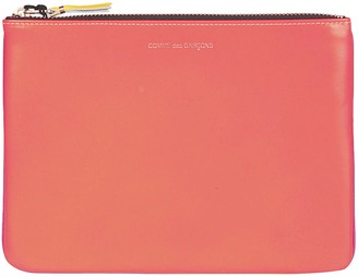 Comme des Garcons Super Fluo Leather Wallet