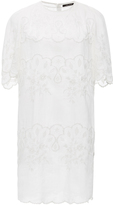 Isabel Marant Ruthel Lace Embroidered Mini Dress