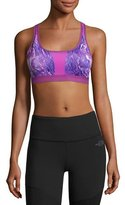 The North Face Stow-N-Go Sports Bra, Purple, A-B Cup