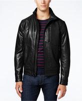 MICHAEL Michael Kors Faux-Leather Bomber Jacket
