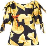 Dolce & Gabbana pasta print top - women - Cotton - 40