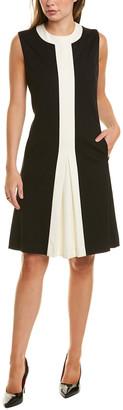 Sara Campbell Colorblocked Shift Dress