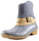Chooka Women's Canvas Step-In Duck Ankle Rain Boot