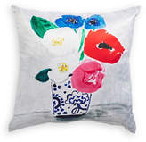Kate Spade New York Flower Vase Silk-Blend Cushion