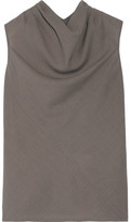 Rick Owens Bonnie Wool Top - Mushroom
