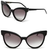 Wildfox Couture Grand Dame Exaggerated Cat Eye Sunglasses, 58mm