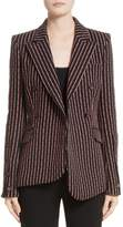Altuzarra Women's Pinstripe Double Breasted Blazer