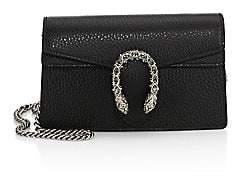 Gucci Women's Dionysus Leather Mini Chain Shoulder Bag