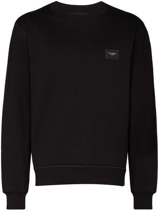 Dolce & Gabbana Logo Plaque Sweater