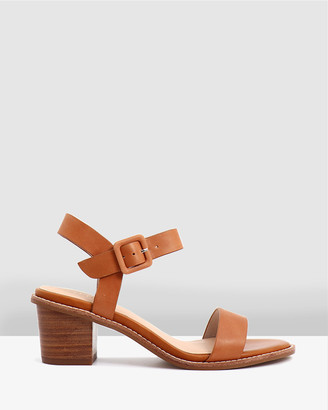 Nude Women's Open Toe Heels - Mandy - Size One Size, 39 at The Iconic