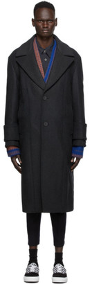 Wooyoungmi Grey Wool Coat