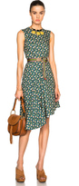 Marni Asymmetrical Printed Dress