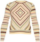 Valentino Native Couture 1975-print crew-neck sweater