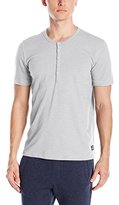 Buffalo David Bitton Men's Slub Terry Henley
