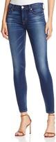 Hudson Nico Supermodel Length Skinny Jeans in Blue Gold