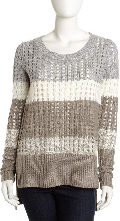 Robert Rodriguez Robbi & Nikki by Ombre Pullover Sweater