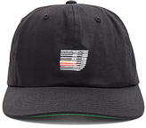Undefeated Speed Stripe Strapback in Black.